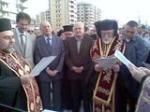 Mgr Elias (Corban) - nouvelle cathédrale de Tripoli